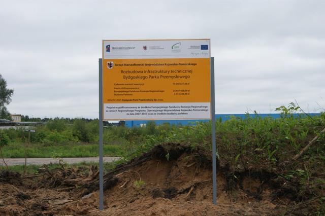 Rozbudowa infrastruktury technicznej Bydgoskiego Parku Przemysłowego