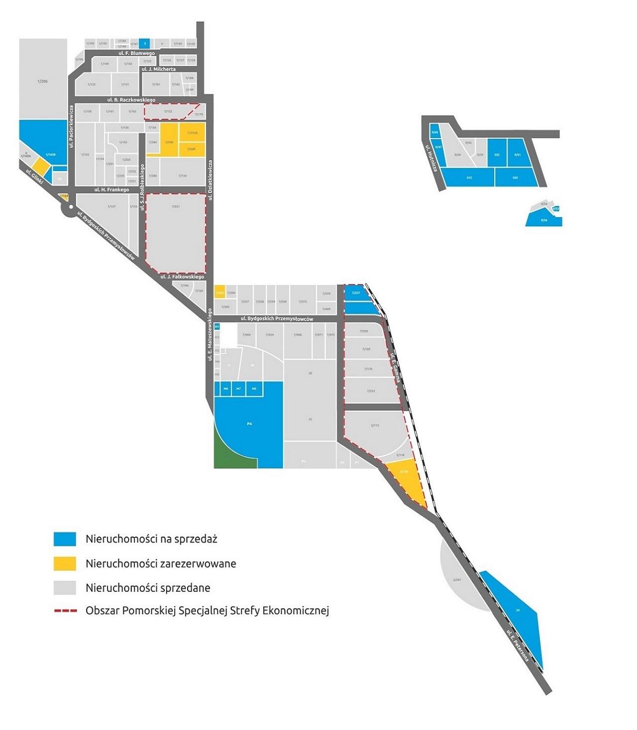 Mapa terenów inwestycyjnych